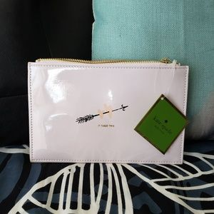 🌸NWT Kate Spade Pencil/Cosmetic pouch